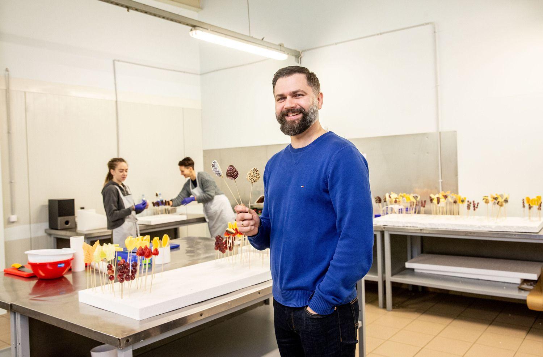 Verslo idėją parsivežė iš JAV: lietuviai nustemba, bet valgomas puokštes perka
