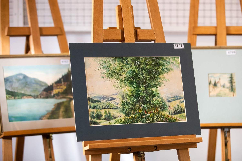 Aukcione nepavyko parduoti A. Hitlerio paveikslų