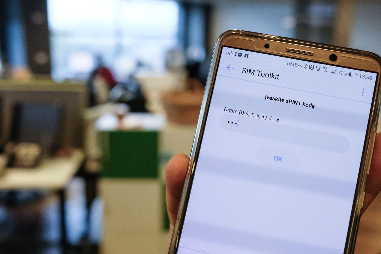 """""""Swedbank"""" kodų kortelių naudotojams pavedimų limitą mažina iki 100 Eur"""