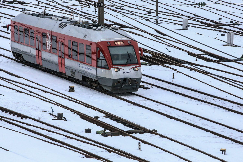 Geležinkelių būklę tirs savaeigis diagnostikos įrenginys