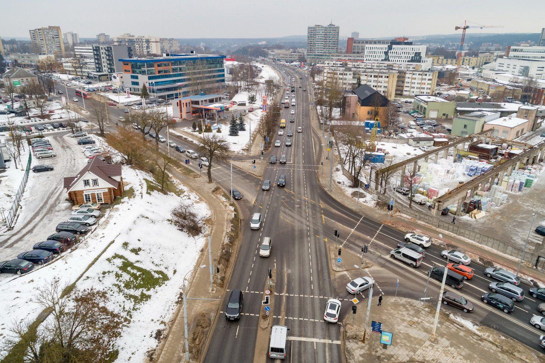 Vilnius ruošiasi rekonstruoti dvi svarbias sankryžas