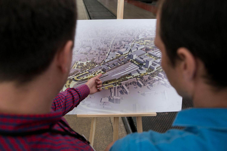 "Architektai įvertino ""Vilnius Connect"" detaliojo plano koncepciją"