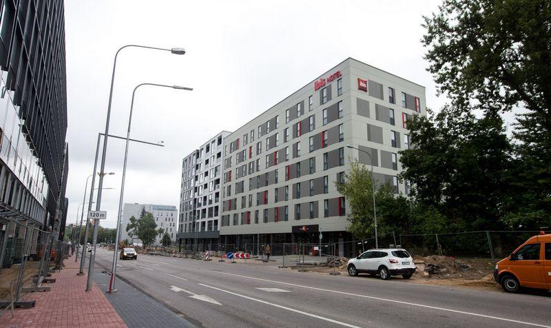 """""""Ibis Vilnius Centre"""" Vilniuje, Rinktinės g. Juditos Grigelytės (VŽ) nuotr."""