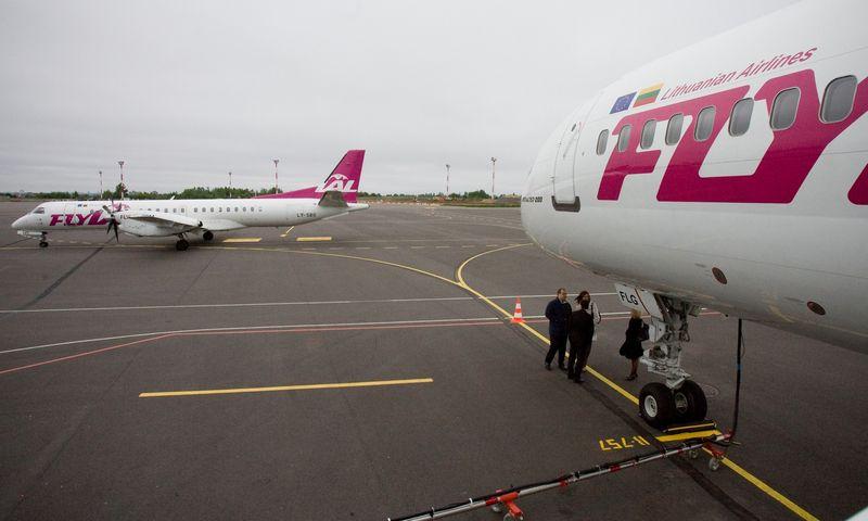 """Bankrutavusios """"FlyLAL"""" ginčas su """"airBaltic"""" gali persikelti į Lietuvos teismus. Herkaus Milaševičiaus nuotr."""