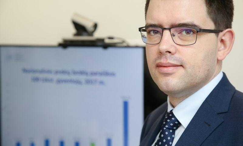 Arūnas Želvys, Valstybinio patentų biuro  vadovas. Vladimiro Ivanovo (VŽ) nuotr.