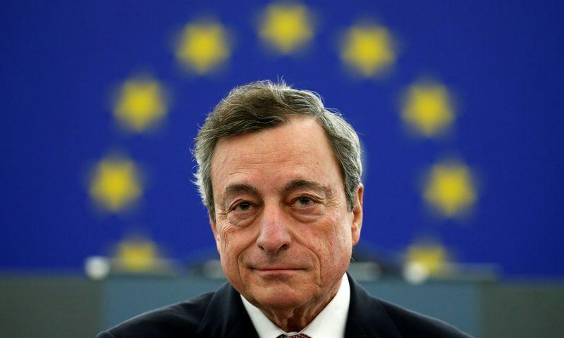 "Mario Draghi, ECB prezidentas. Vincento Kesslerio (""Reuters"" / ""Scanpix"") nuotr."