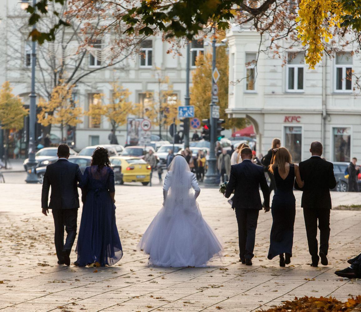 Lietuviai ES pirmauja pagal santuokų skaičių
