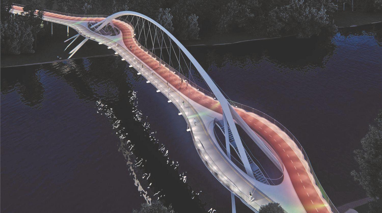 Kokius tiltus architektai siūlo Vilniui