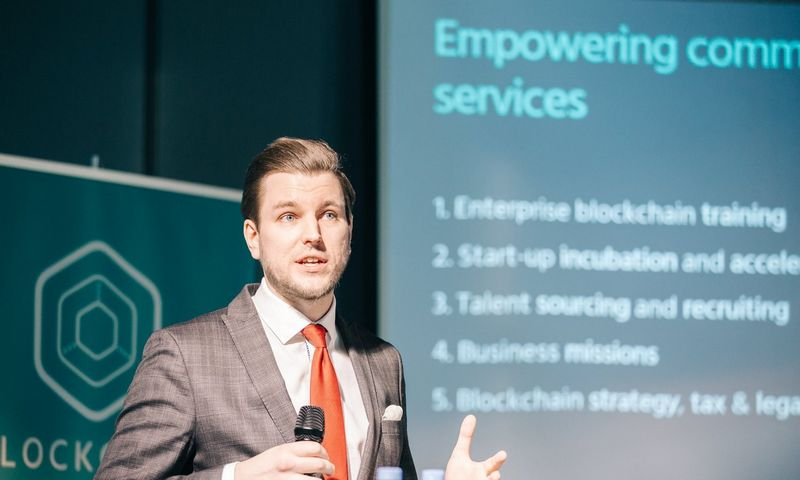 """Justas Šireika, """"Blockchain Centre Vilnius"""" direktorius.Įstaigos nuotr."""