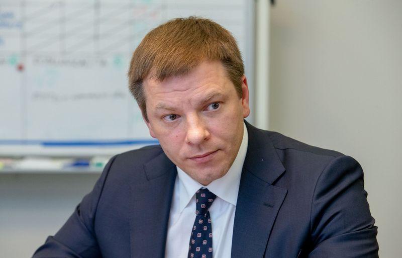 Vilius Šapoka, finansų ministras. Juditos Grigelytės (VŽ)