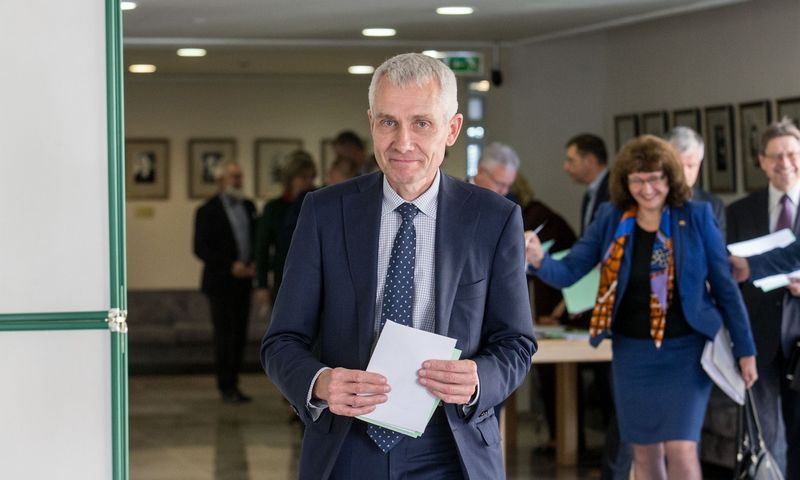 Raimundas Martinėlis iš valstiečių-žaliųjų išėjo pas konservatorius Seime. Juditos Grigelytės (VŽ) nuotr.