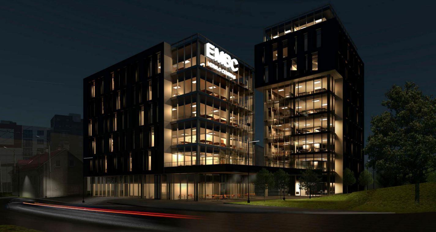 Vilniaus Naujamiestyje planuojamas dar vienas verslo centras