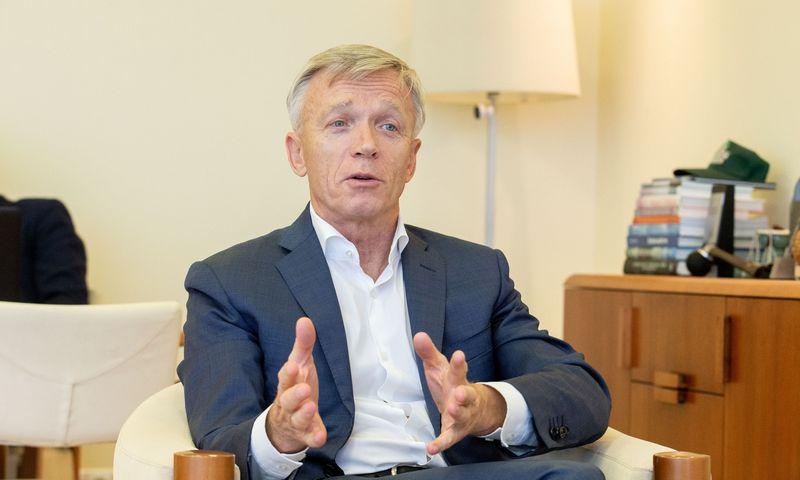 """Arvydas Avulis, """"Hanner"""" valdybos pirmininkas. Juditos Grigelytės (VŽ) nuotr."""
