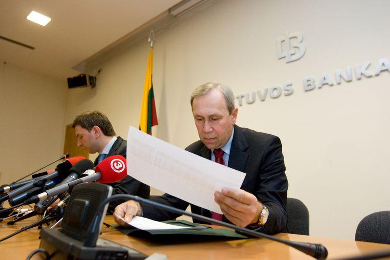 Buvęs Lietuvos banko valdybos narys Vaidievutis Geralavičius. Vladimiro Ivanovo (VŽ) nuotr.