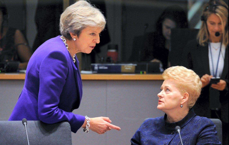 Th. May susiskambino su D. Grybauskaite