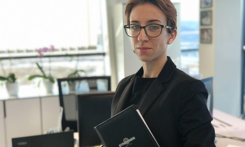 Vaiva Jakienė, trijų Norvegijos kapitalo įmonių vadovė koordinatorė. Vytauto Gaižausko nuotr.