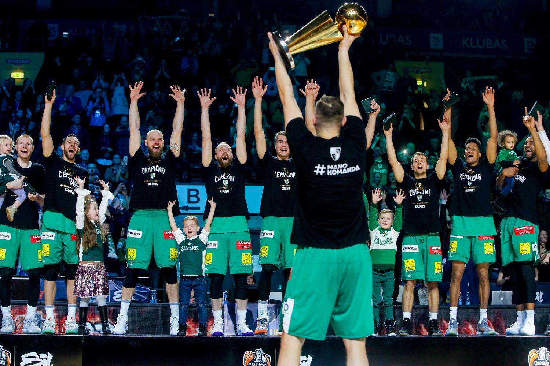 Karaliaus Mindaugo taurė dosni žaidėjams ir žiūrovams