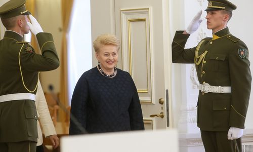 Prezidentė Vasario 16-osios proga ragina branginti laisvę