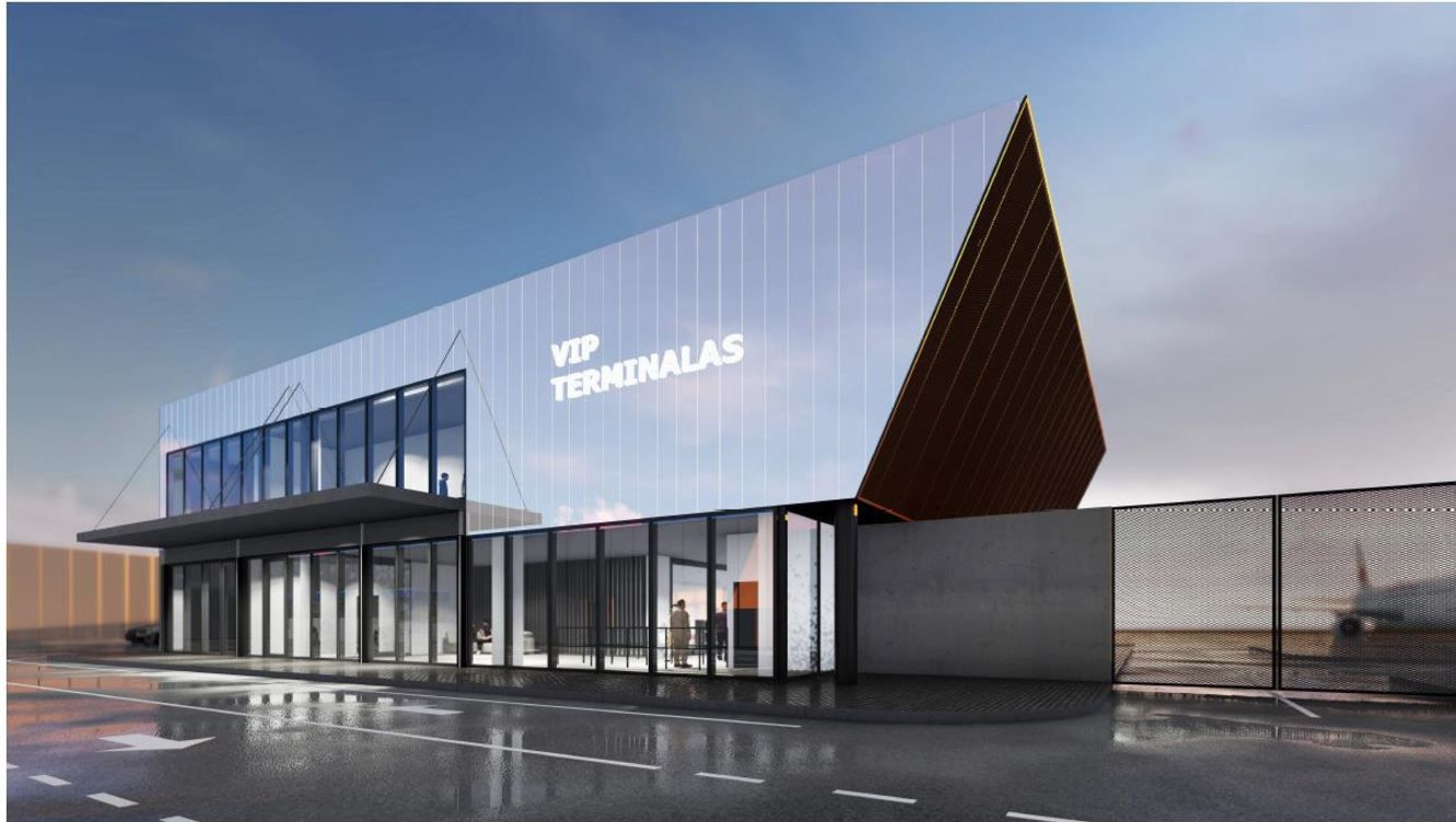 Vilniaus oro uostas imasi VIP keleivių terminalo statybos