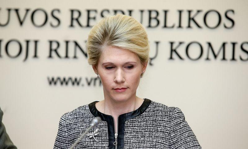 Laura Matjošaitytė, VRK pirmininkė, pabrėžė, kad kandidatais į prezidentus negalės tapti tie, kurie laiku neįsiregistravo politinės kampanijos dalyviais.  Vladimiro Ivanovo (VŽ) nuotr.