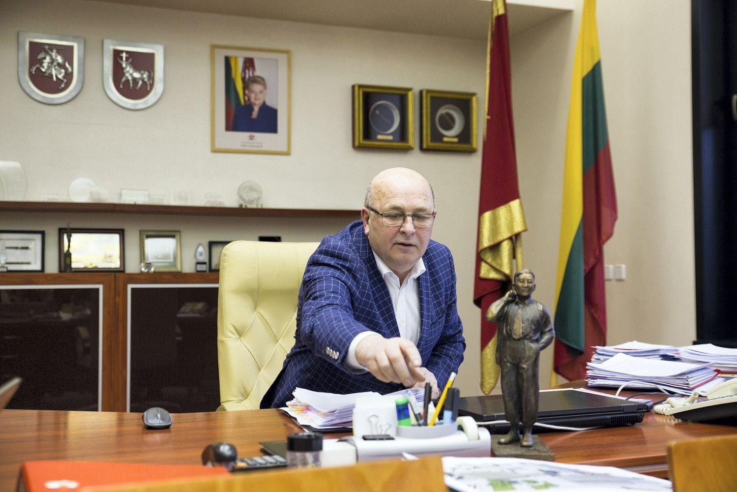 Kauno meras patvirtino nesieksiąs prezidento posto