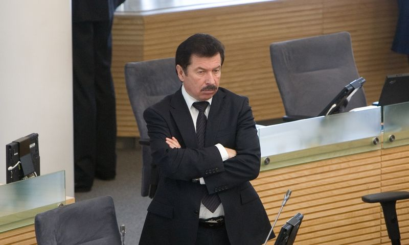"""Rimas Antanas Ručys, partijos """"Tvarka ir teisingumas"""" narys. Juditos Grigelytės (VŽ) nuotr."""