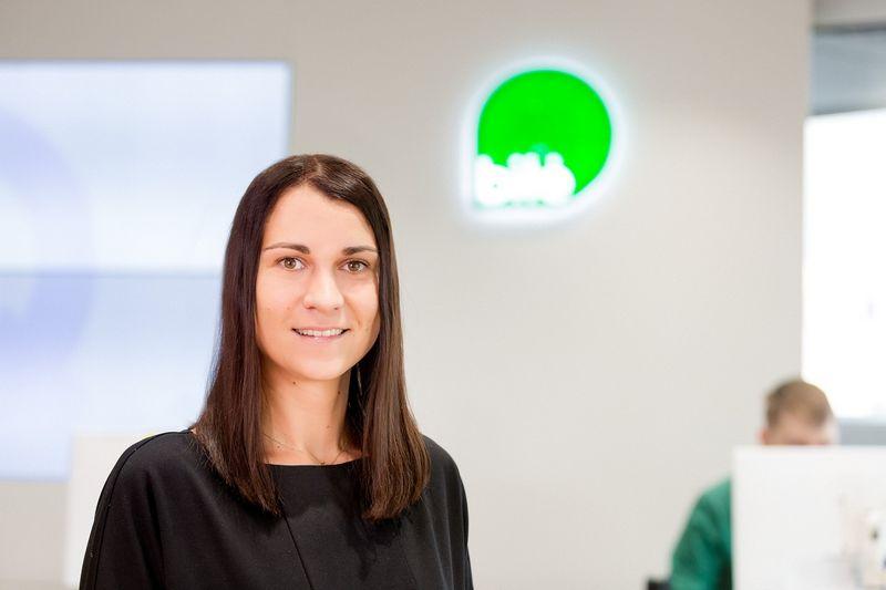 """Telekomunikacijos bendrovės """"Bitė Lietuva"""" prekės ženklo komunikacijai vadovaus Ieva Talaikienė. Bendrovės nuotr."""