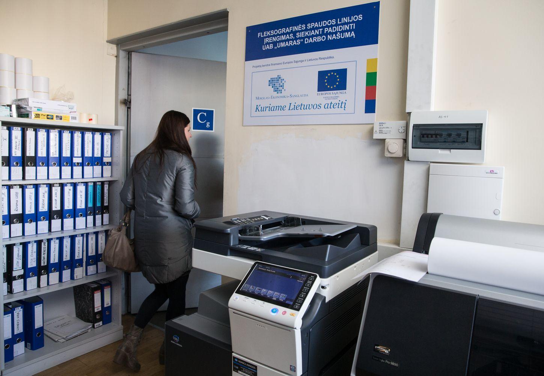Medikamentų pakuotoja ES investicijas panaudotų moderniems įrengimams