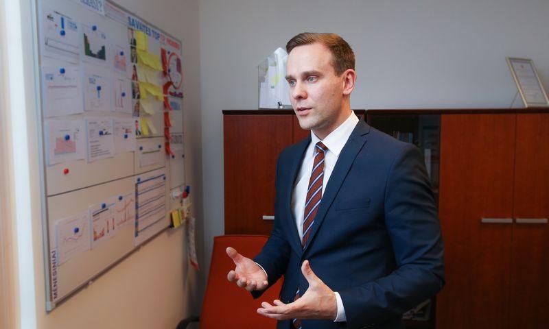 """Haroldas Nausėda, """"Lietuvos energijos tiekimo"""" verslo klientų ir plėtros departamento vadovas. Juditos Grigelytės (VŽ) nuotr."""