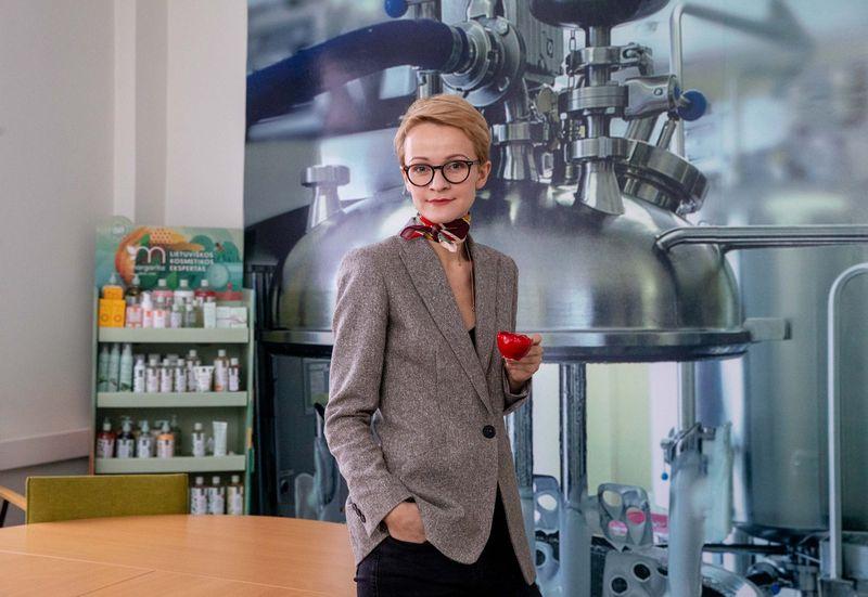 """Ieva Semaškienė, LiMA valdybos narė, UAB """"Biok laboratorija"""" prekės ženklo """"Kilig"""" vadovė. Juditos Grigelytės (VŽ) nuotr."""