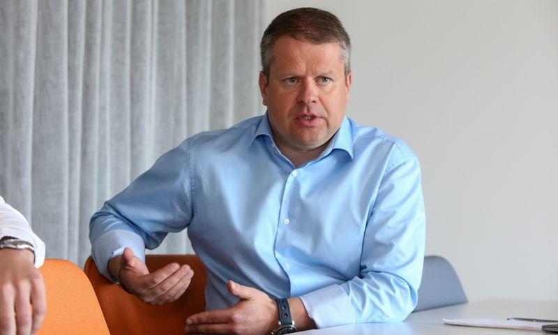 """Regimantas Buožius, UAB """"ACC Distribution"""" valdybos pirmininkas sako, kad valdyboje nariai turi kalbėti apie 70% ir tik likusią dalį – vadovas. Vladimiro Ivanovo (VŽ) nuotr."""