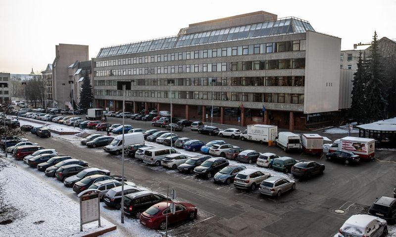 ŽŪM pastatas Vilniuje, Gedimino pr. 19. Juditos Grigelytės (VŽ) nuotr.