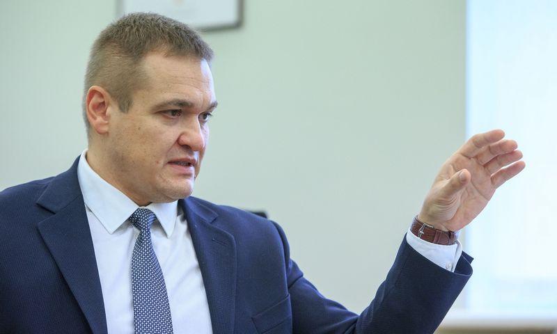 Vidaus reikalų ministras Eimutis Misiūnas. Vladimiro Ivanovo (VŽ) nuotr.