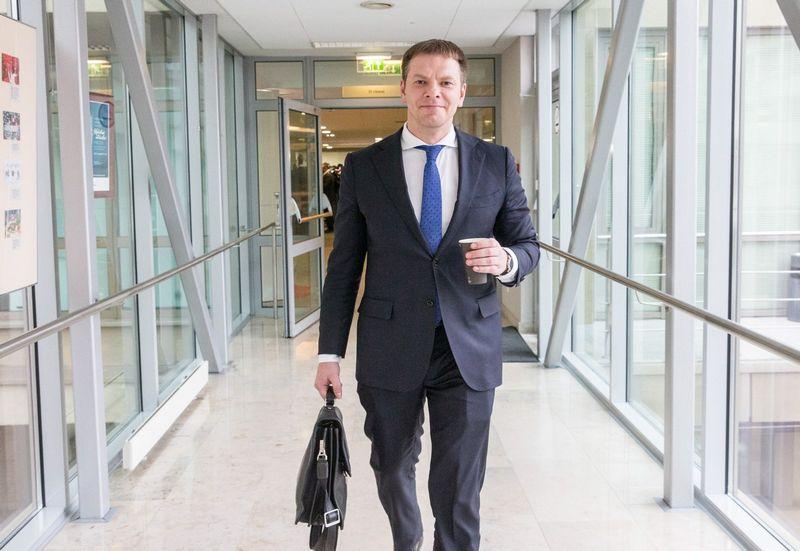 Lietuvos finansų ministras Vilius Šapoka. Juditos Grigelytės (VŽ) nuotr.