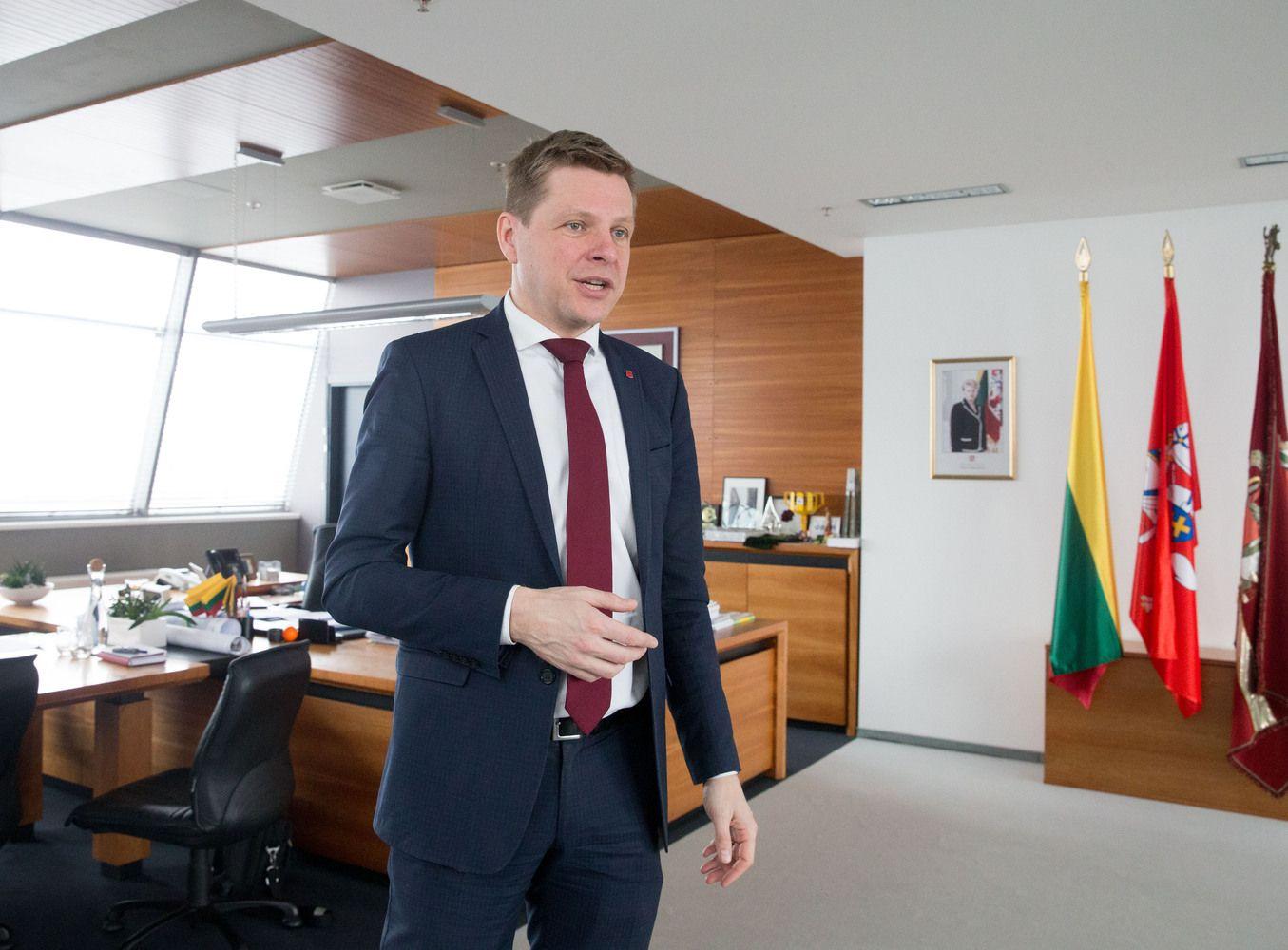 VTEK: Vilniaus meras R. Šimašius supainiojo interesus