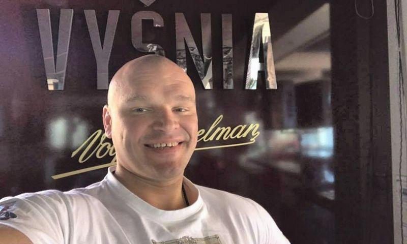 """Ramūnas Vyšniauskas, UAB """"Štangomanija"""" direktorius ir bendraturtis. Asm. archyvo nuotr."""