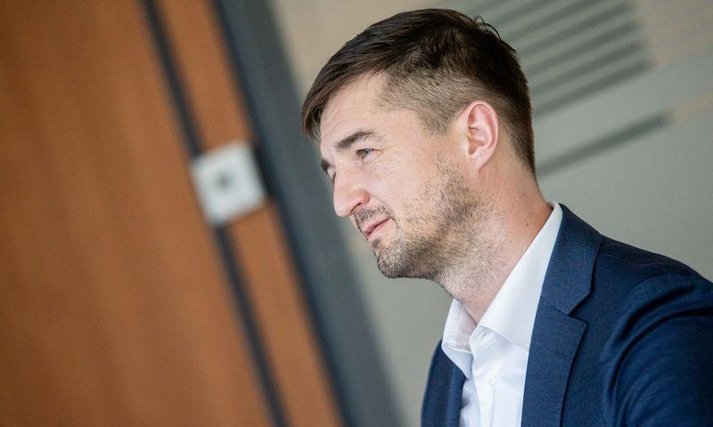 """Vytautas Labeckas, """"Akropolis Group"""" direktorius ir valdybos narys. Juditos Grigelytės (VŽ) nuotr."""