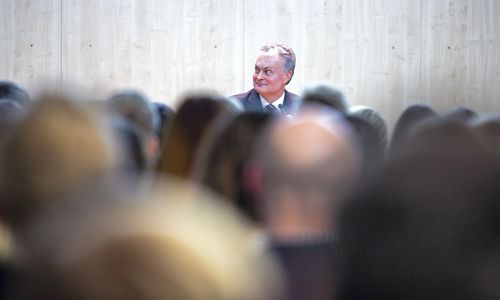 G. Nausėda surinko parašus dalyvauti prezidento rinkimuose