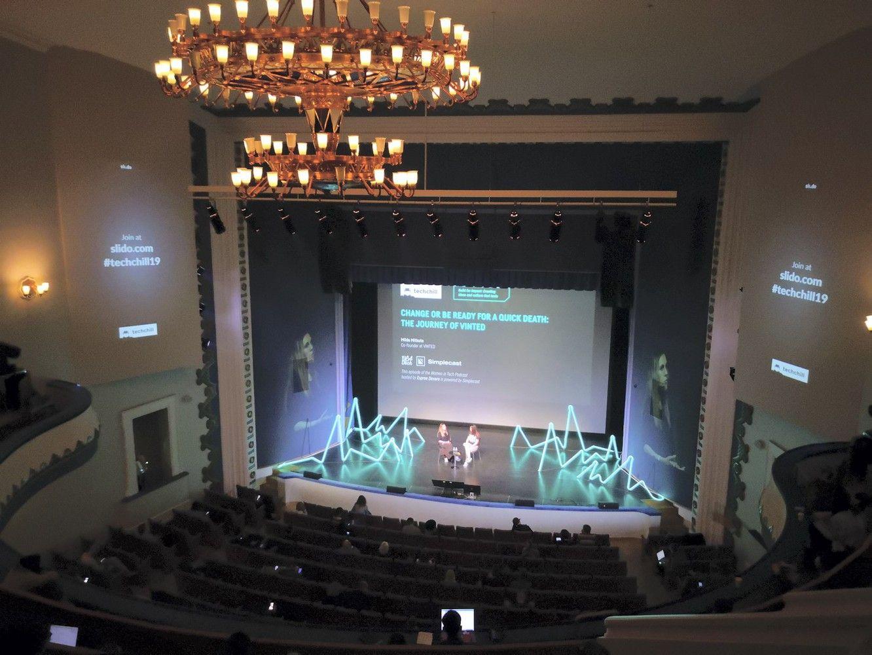 """Rygoje vyksta startuolių konferencija """"TechChill"""""""