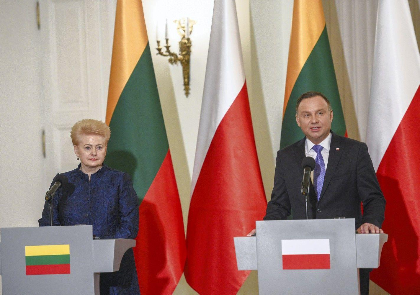 A. Duda:Lenkija laukia, kol Lietuva įteisins pavardžių rašymą nelietuviškais rašmenimis