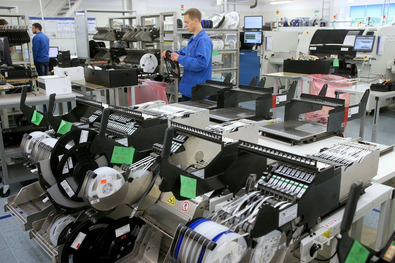 """""""Kitron"""" Lietuvoje pajamas augino 23%, darbuotojų skaičių - 80"""