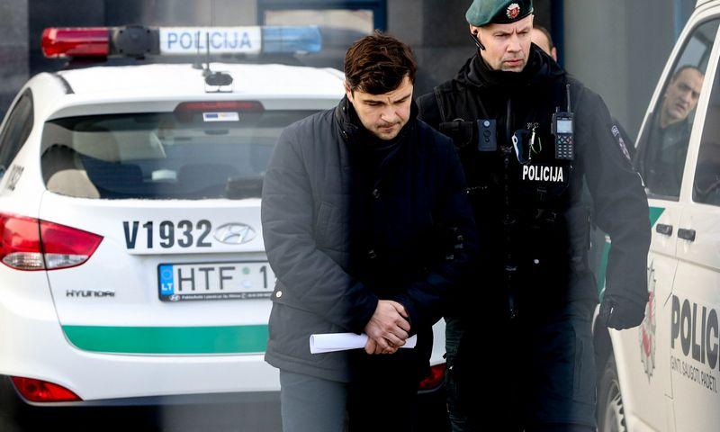 """Rolandas Vasiliauskas, teismų korupcijos byloje įtariamasis, UAB """"Indema"""" vadovas. Vidmanto Balkūno (""""15min"""") nuotr."""