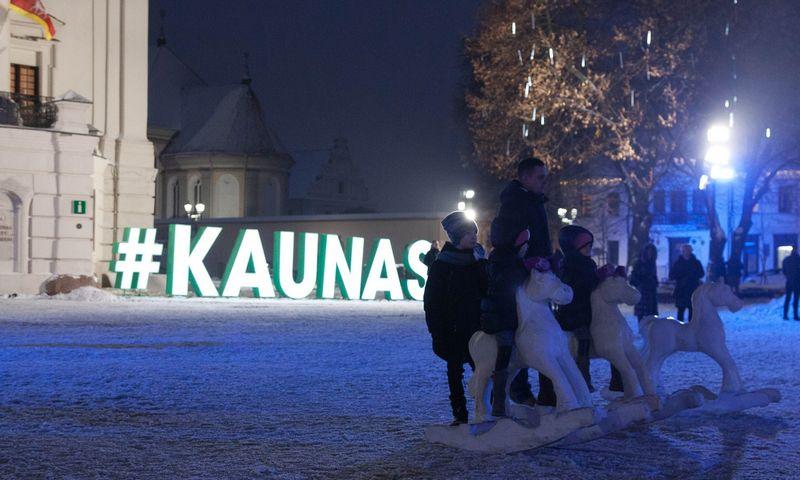 Kaunas ruošiasi Kalėdoms. Miglės Žilinskaitės nuotr.