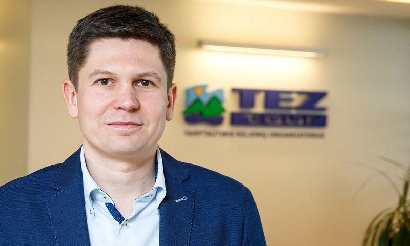 """Aleksandras Sukovas, """"Tez Tour"""" vadovas: """"2019 m. bus įmanoma konkuruoti tik investuojant į rinką, t. y. pelno sąskaita."""" Vladimiro Ivanovo (VŽ) nuotr."""