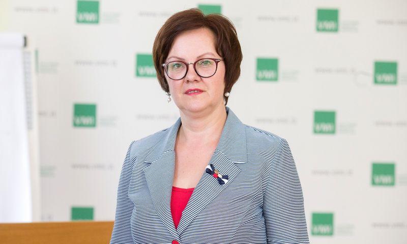 Edita Janušienė, VMI vadovė, Juditos Grigelytės (VŽ) nuotr.