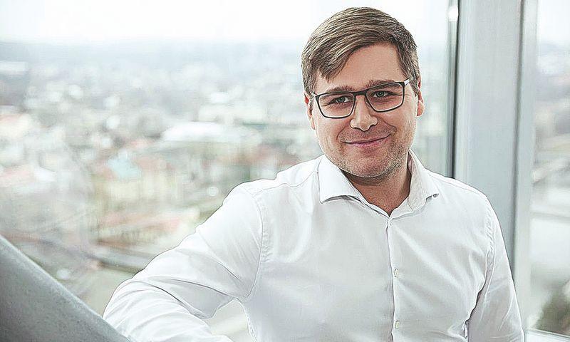 """Marius Miškinis, """"BaltCap Growth Fund"""" investicijų valdytojas. Bendrovės nuotr."""