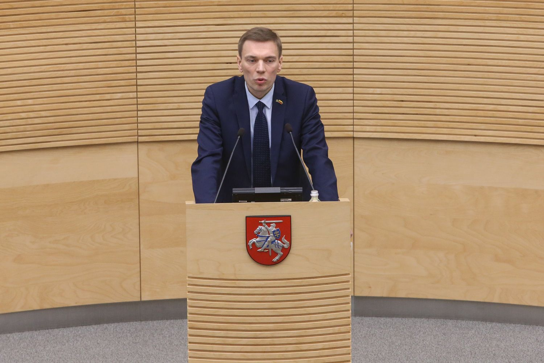 Seimo narys M. Puidokas pašalintas iš LVŽS