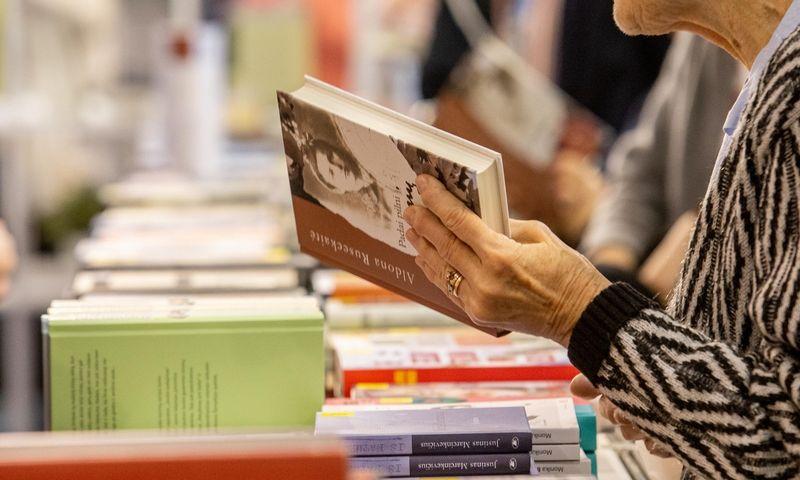Didžiausias šio savaitgalio kultūrinis renginys – Vilniaus knygų mugė.  Juditos Grigelytės (VŽ) nuotr.