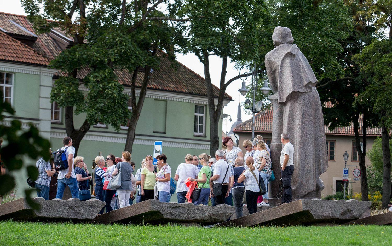 Užsienio turistų srautai Lietuvoje per metus ūgtelėjo dešimtadaliu