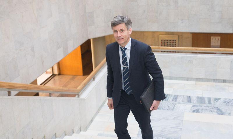 Dalius Gedvilas, Lietuvos statybininkų asociacijos prezidentas. Juditos Grigelytės (VŽ) nuotr.
